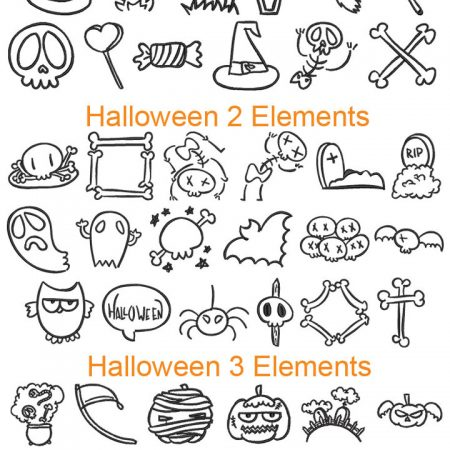 Halloween Elements bundle icon