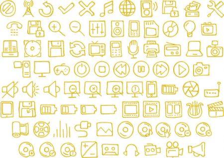 media 1 elements icon