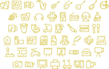 music 2 elements icon