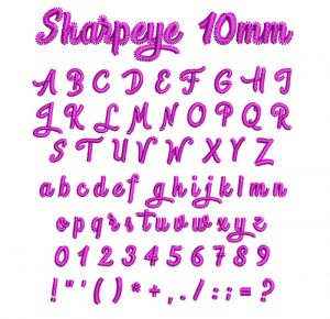 Sharpeye 10mm esa font icon