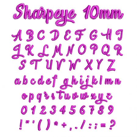 Sharpeye 10mm esa font icon