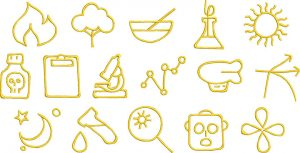 science 2 glyphs gallery image