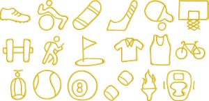 sports 1 glyphs gallery image