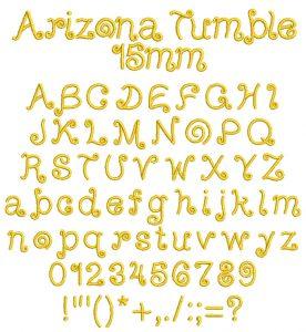 arizona tumble esa font icon
