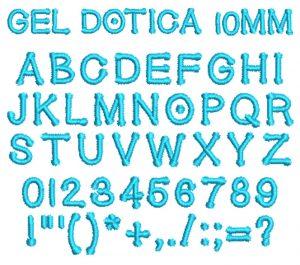 Gel Dotica esa font icon