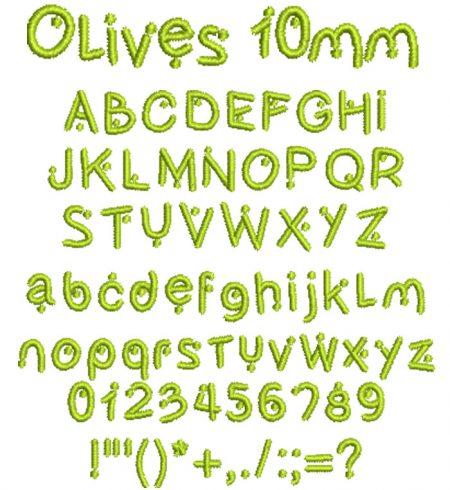 Olives10mm