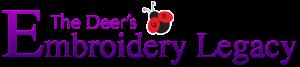 Deers Embroidery Legacy Logo