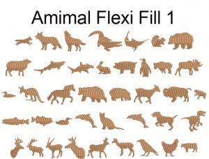 animal flexi fill icon