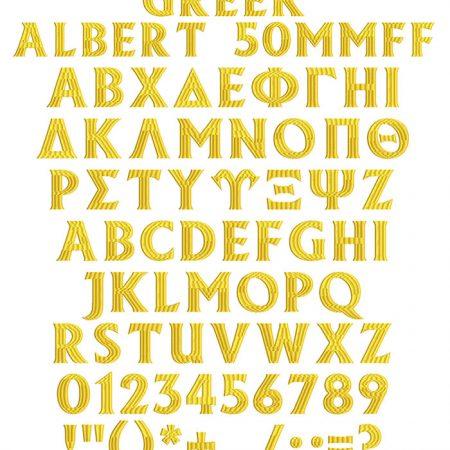 greek albert flexi fill font icon