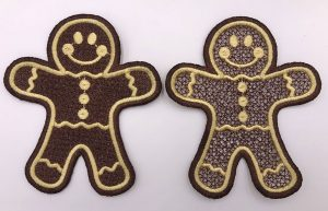 christmas cookies mylar
