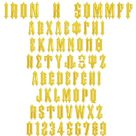 greek iron H 50mm flexi fill icon