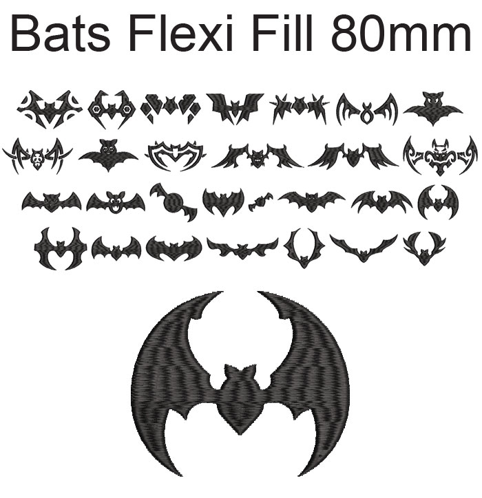 Bats esa flexi fill font