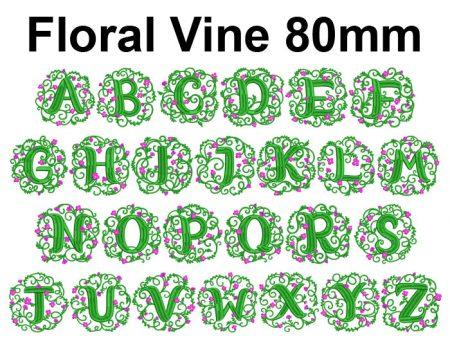 Floral Vine esa font icon