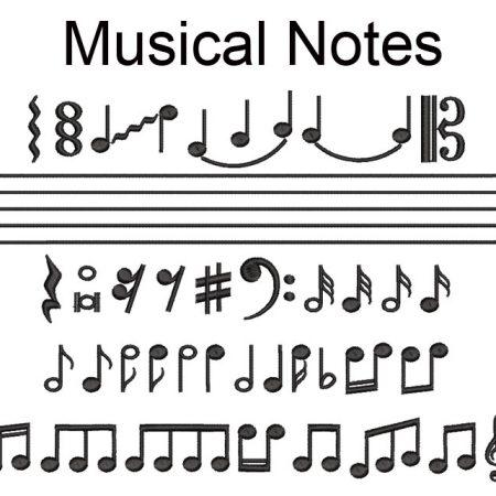 musical notes esa glyphs icon
